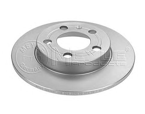 Тормозной диск MEYLE 115 523 1070/PD