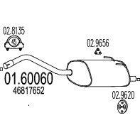 Глушитель MTS 01.60060