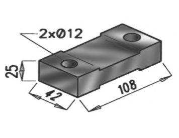 Резиновые полоски, система выпуска DINEX 50904