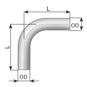 Труба выхлопного газа, универсальная DINEX 91088