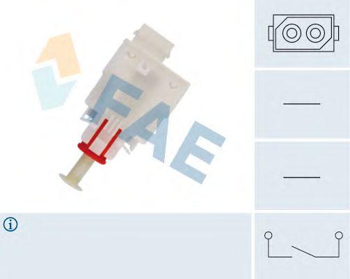 Выключатель FAE 24465 (привод сцепления Tempomat, управление сцеплением)