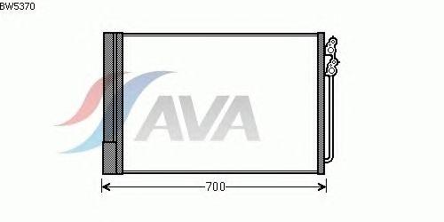 Радиатор кондиционера AVA QUALITY COOLING BW5370