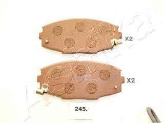 Тормозные колодки ASHIKA 50-02-245