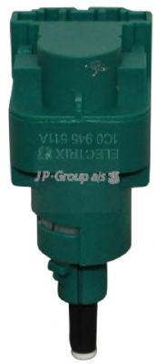 Выключатель фонаря сигнала торможения JP GROUP 1196601800
