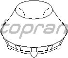 Опорное кольцо, опора стойки амортизатора TOPRAN 107 663
