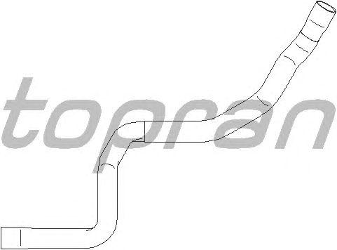 Шланг радиатора TOPRAN 401 958