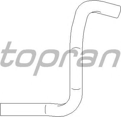 Шланг вентиляции картера TOPRAN 207 338