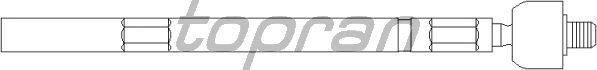 Рулевая тяга TOPRAN 720 405