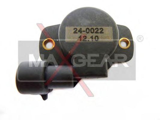 Датчик положения дроссельной заслонки, ДПДЗ MAXGEAR 24-0022