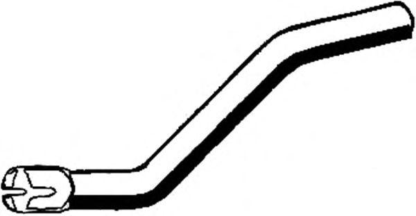 Труба выхлопного газа ASMET 07,186
