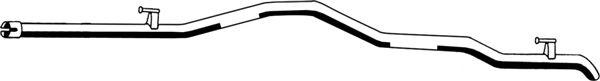 Труба выхлопного газа ASMET 02.030
