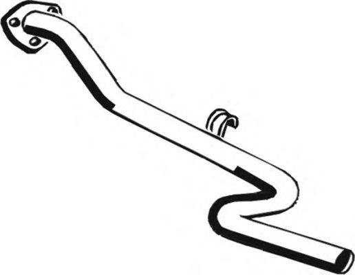 Труба выхлопного газа ASMET 04.048