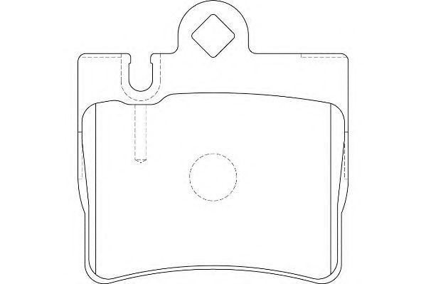 Тормозные колодки WAGNER WBP23078A