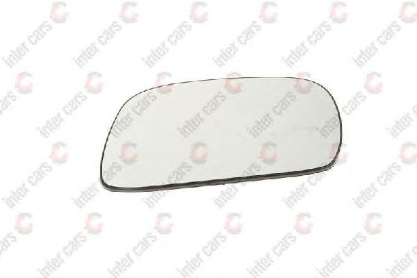Стекло зеркала заднего вида BLIC 6102-02-1292227P