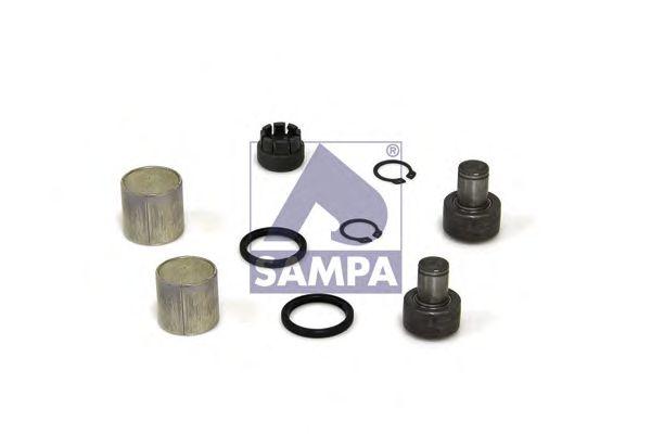 Ремкомплект, подшипник выключения сцепления SAMPA 080.617/1