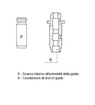 Направляющая втулка клапана METELLI 01-2934