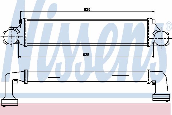 Интеркулер NISSENS 96723