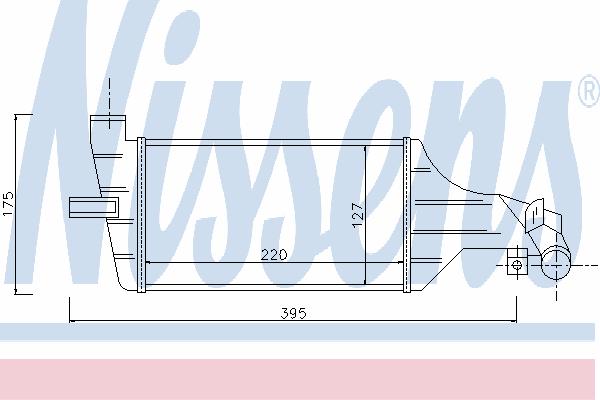 Интеркулер NISSENS 96789