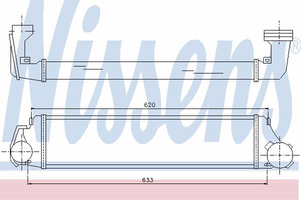 Интеркулер NISSENS 96654