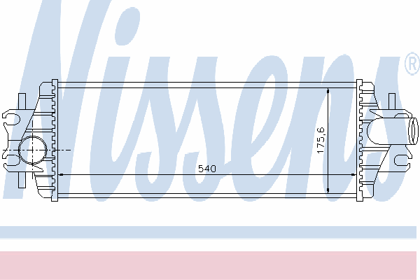 Интеркулер NISSENS 96775