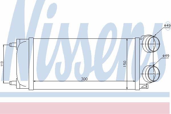 Интеркулер NISSENS 96718