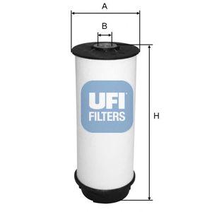 Топливный фильтр UFI 26.034.00