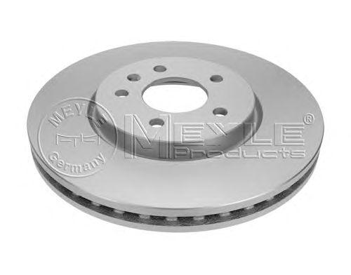 Тормозной диск MEYLE 615 521 0004/PD