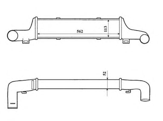 Интеркулер NRF 30419