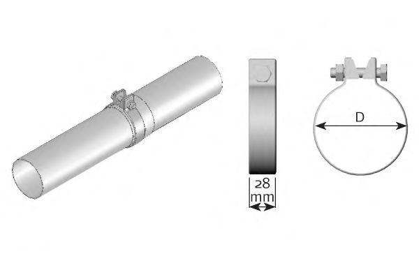 Клемма, система выпуска DINEX 99565