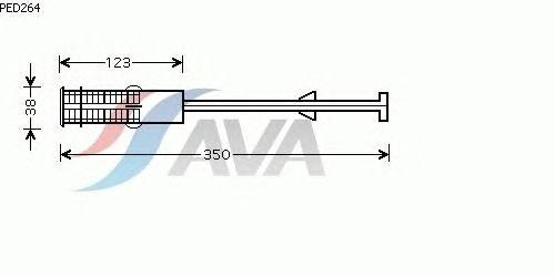 Осушитель кондиционера AVA QUALITY COOLING PED264