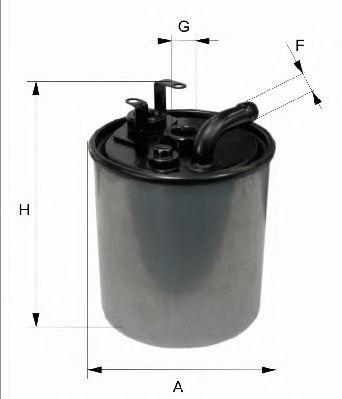 Топливный фильтр FILTRON PP841/4