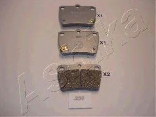Тормозные колодки ASHIKA 51-02-256