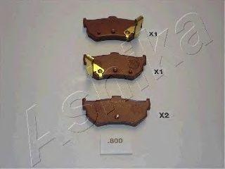 Тормозные колодки ASHIKA 51-08-800