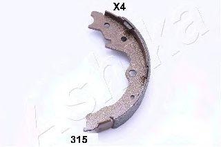Тормозные колодки ручника ASHIKA 55-03-315