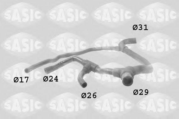 Шланг радиатора SASIC 3404003
