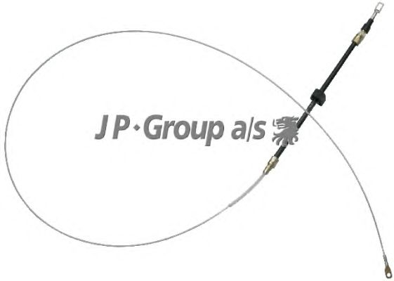 Трос ручника JP GROUP 1170302900