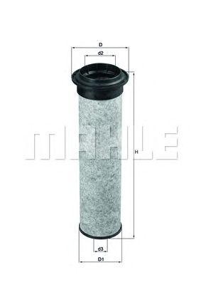 Фильтр добавочного воздуха MAHLE ORIGINAL LXS 41/1