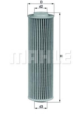 Масляный фильтр MAHLE ORIGINAL OX 183/5D
