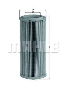 Воздушный фильтр MAHLE ORIGINAL LX 2682
