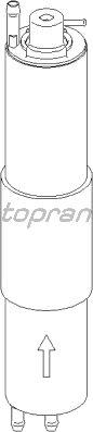 Топливный фильтр TOPRAN 500 740