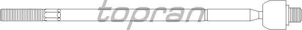 Рулевая тяга TOPRAN 301 847