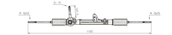 Рулевой механизм GENERAL RICAMBI FI4119
