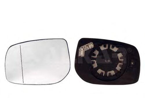Стекло зеркала заднего вида ALKAR 6432957