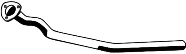 Труба выхлопного газа ASMET 04.084