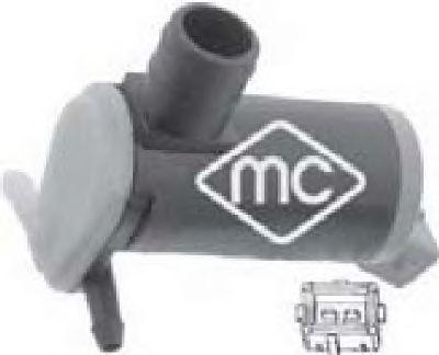 Насос омывателя Metalcaucho 02064
