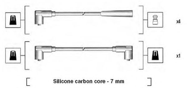 Комплект высоковольтных проводов MAGNETI MARELLI 941275010837
