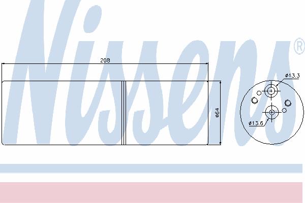 Осушитель кондиционера NISSENS 95231