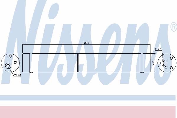 Осушитель кондиционера NISSENS 95312