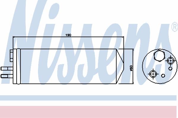 Осушитель кондиционера NISSENS 95148