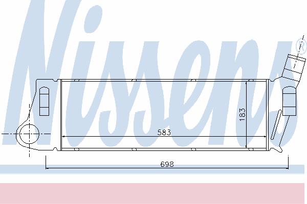 Интеркулер NISSENS 96728